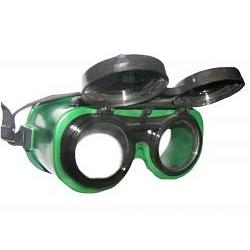 Очки защитные Jl-а018-1 газосварщика откидное стекло