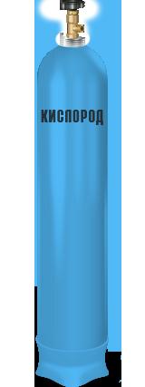 Баллон кислородный 40л б/у аттест.